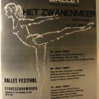 Poster Het Zwanenmeer 1967